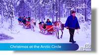 Christmas at the Arctic Circle
