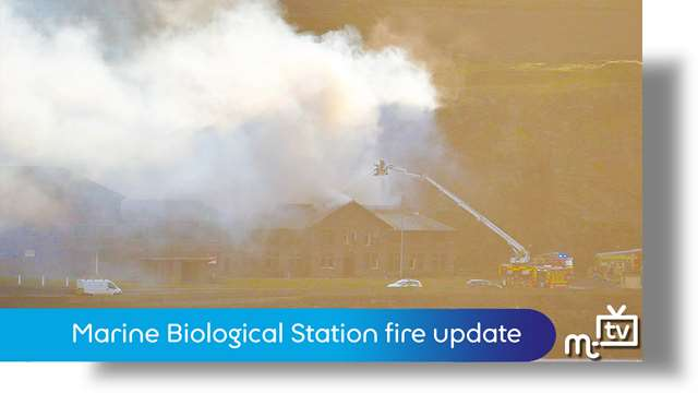 Preview of - Marine Biological Station fire update