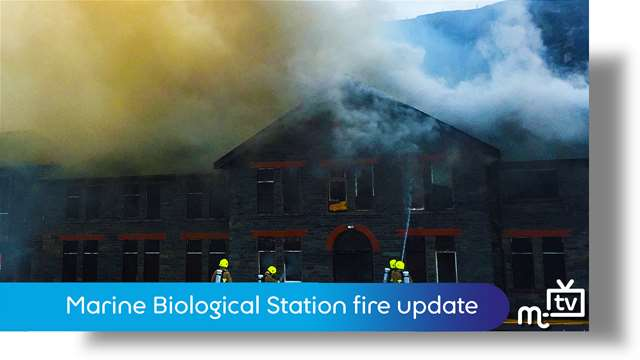Preview of - Biological Station fire last update
