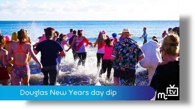 Preview of - Douglas New Year day dip