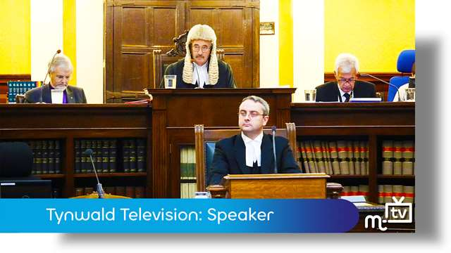 Preview of - Tynwald TV: Juan Watterson