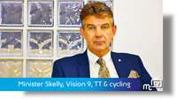Skelly: Vision 9, TT branding & cycling championships