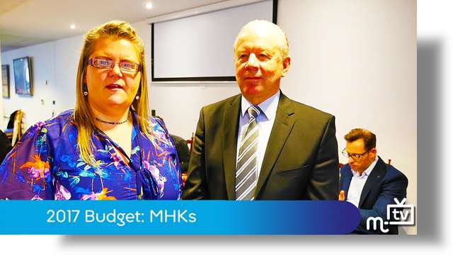 Preview of - Manx budget: MHKs view