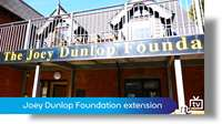 The Joey Dunlop Foundation building extension