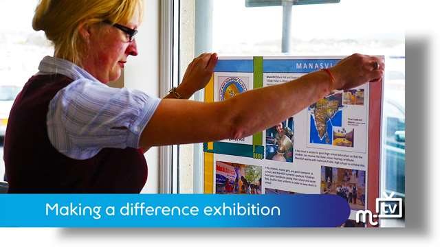Preview of - Making a difference exhibition