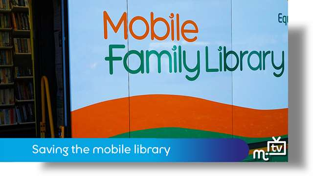 Preview of - Saving the mobile library