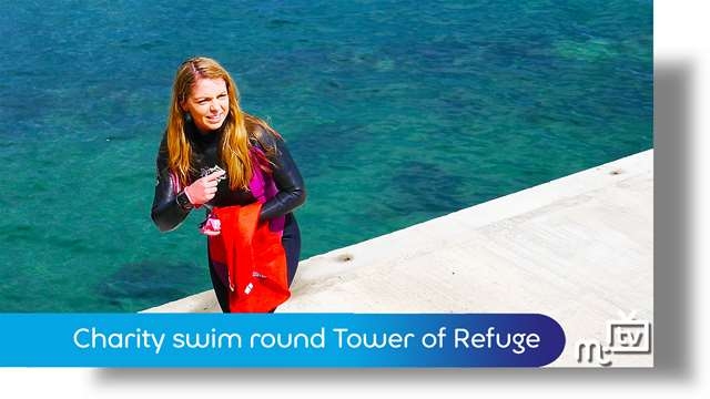 Preview of - Charity swim round Tower of Refuge