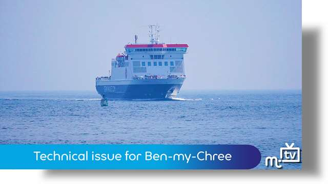 Preview of - Ben-my-Chree turns back