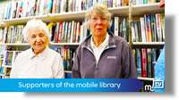Mobile library supporters