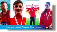 NatWest Island Games: athletics medals