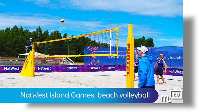 Preview of - NatWest Island Games: beach volleyball