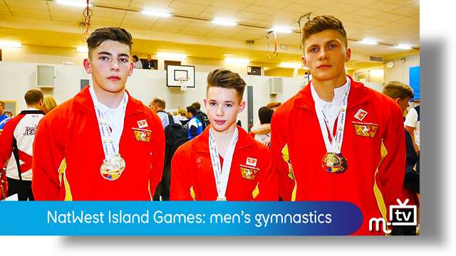 Preview of - NatWest Island Games: men's gymnastics