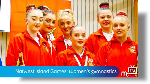 Preview of - NatWest Island Games: women's gymnastics
