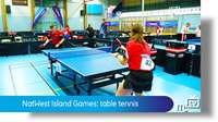 NatWest Island Games: table tennis
