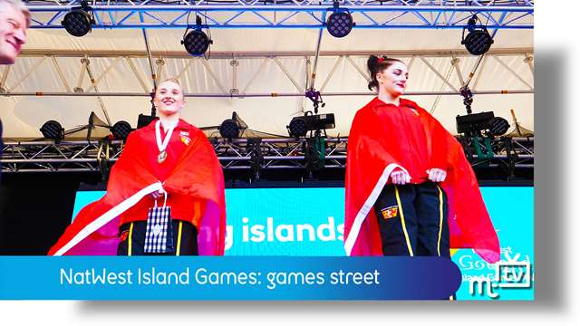Preview of - NatWest Island Games: Games Street