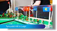 Tynwald Hill in Lego