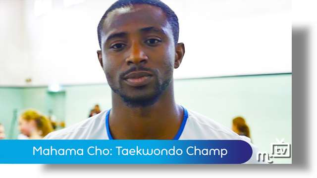 Preview of - Mahama Cho: Taekwondo champ