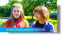 Amelia Sharpe picked for Team GB