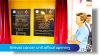 New breast cancer unit officially opened
