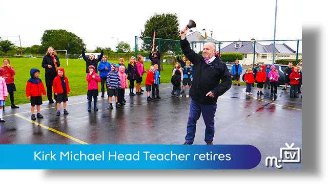 Preview of - Kirk Michael Head Teacher retires