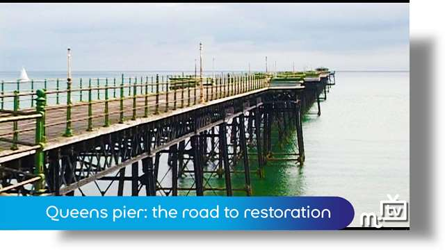 Preview of - Queen's pier: the road to restoration
