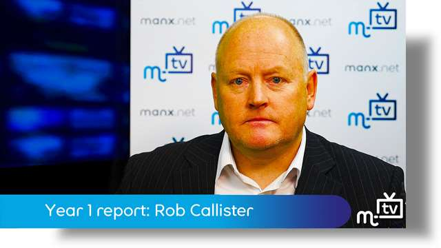 Preview of - Year 1 report: Rob Callister