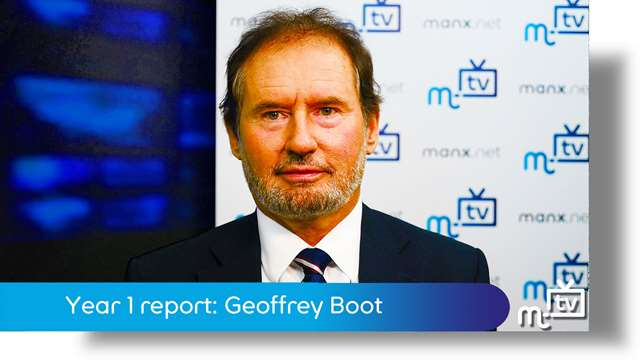 Preview of - Year 1 report: Geoffrey Boot