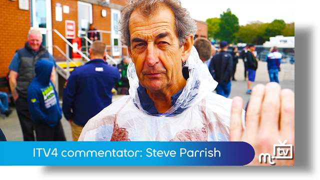 Preview of - ITV4 commentator: Steve Parrish