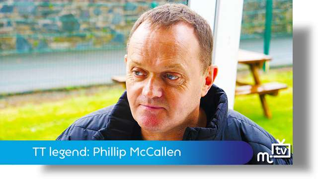 Preview of - TT legend: Phillip McCallen