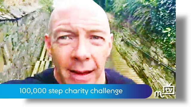 Preview of - 100,000 step charity challenge