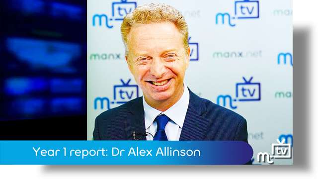 Preview of - Year 1 report: Dr Alex Allinson