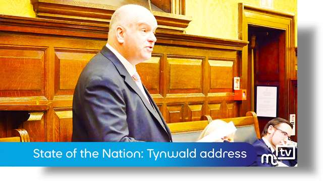 Preview of - State of the Nation: Tynwald address