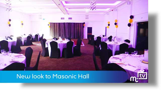 Preview of - New look for Masonic Hall