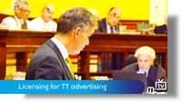 Licensing for TT advertising