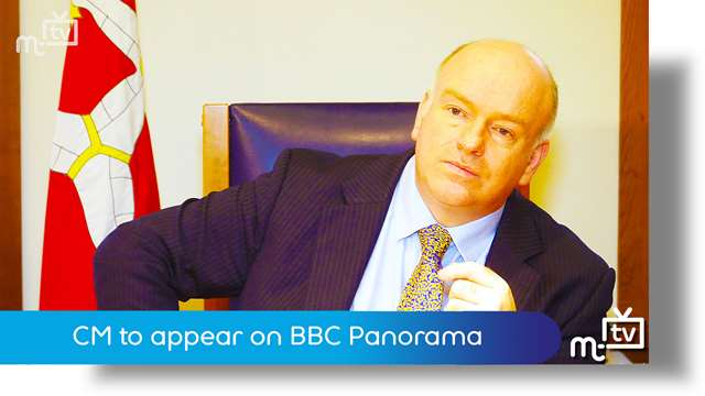 Preview of - CM to appear on BBC Panorama