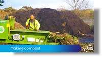 Waste Recycling Centre: making compost