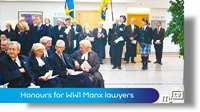 Honours for WW1 Manx lawyers