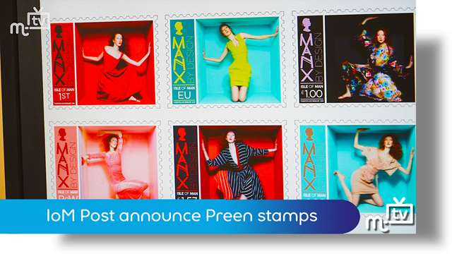 Preview of - IoM Post announce Preen stamps