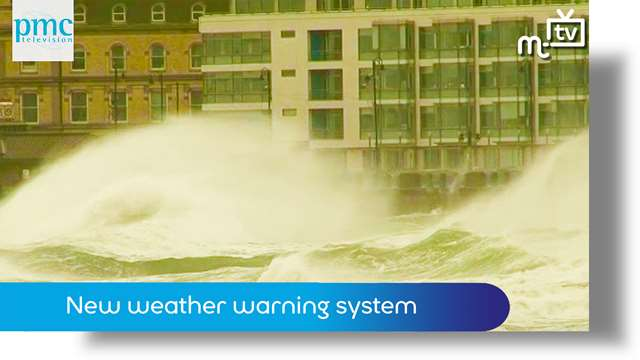 Preview of - Manx weather warning system