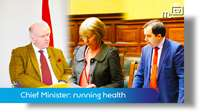 Chief Minister: running the health service