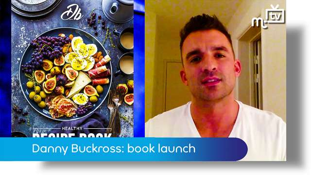 Preview of - Danny Buckross: healthy cookbook launch