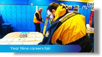 Ballakermeen High School: careers fair