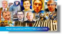 Most viewed videos in February