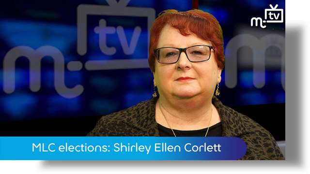 Preview of - MLC elections: Shirley Ellen Corlett
