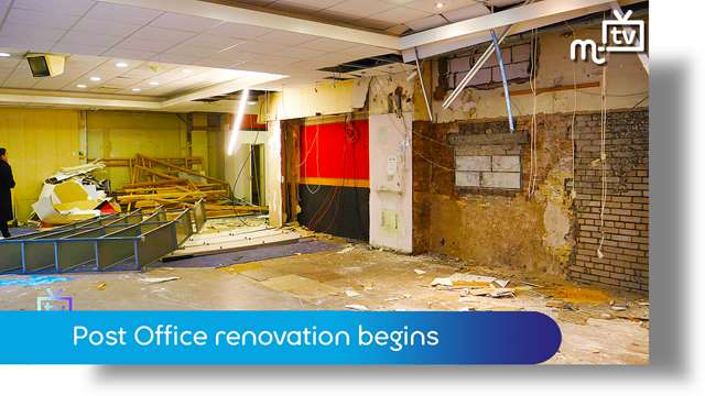 Preview of - Old Douglas Post office renovation begins