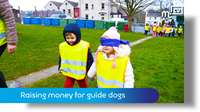 Raising money for guide dogs