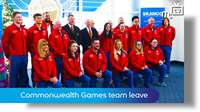 IoM team leave for Gold Coast games