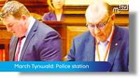 March Tynwald: Castletown Police station