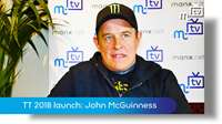 TT launch 2018: John McGuinness