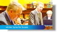March Tynwald: Winter tyres for buses